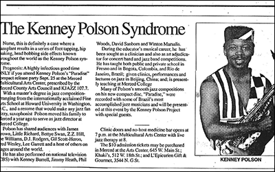 """The Kenney Polson Syndrome"""