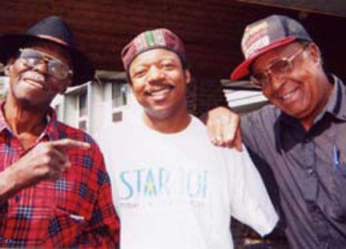 Pinetop-Perkins-Phillip-Walker- and Kenney Polson